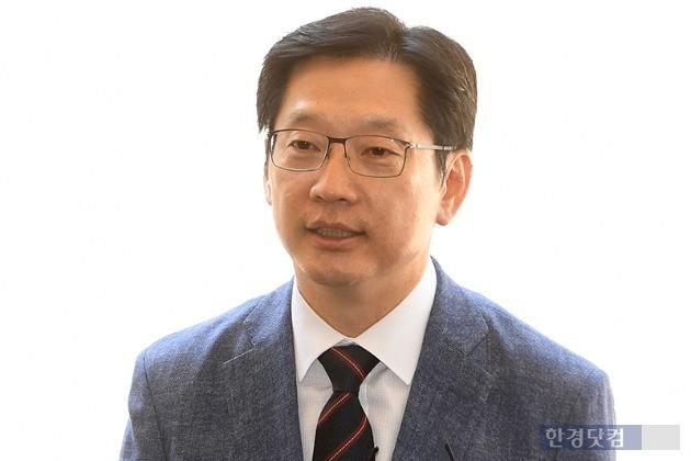김경수 더불어민주당 경남지사 후보(사진=한경닷컴 DB)