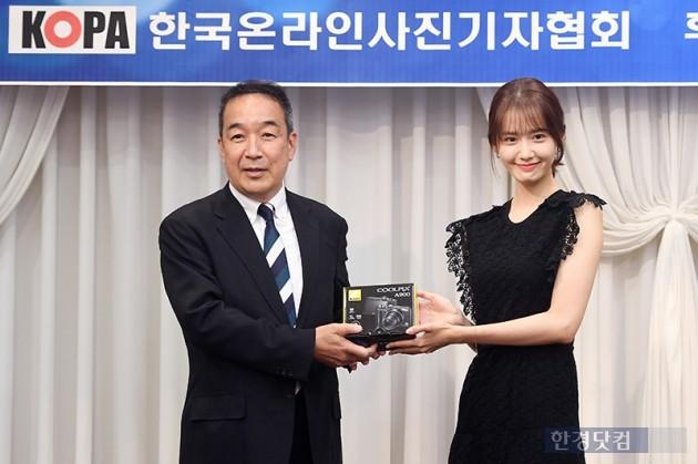 [포토] 키타바타 히데유키, '윤아씨 포토제닉 축하합니다'