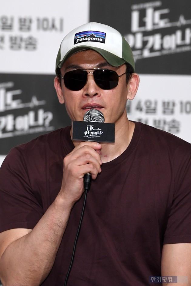 [포토] 유오성, '카리스마 배우'