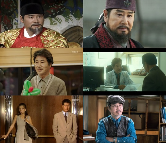 KBS '용의 눈물', '정도전', '가족끼리 왜 이래', tvN '세상에서 가장 아름다운 이별', MBC '애인' (사진=방송 화면 캡처)