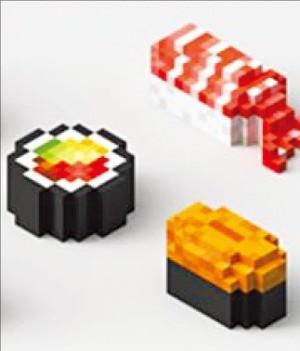 3D프린터로 출력한 '레고 초밥'… 맛·식감은 물론 영양소도 조절