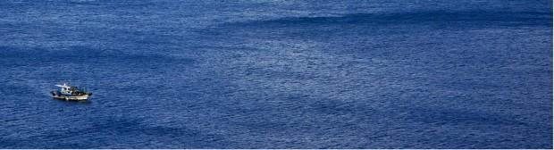 여수 안도 동곶이 바다.