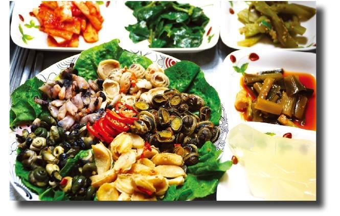 백년손님 밥상의 해산물 요리