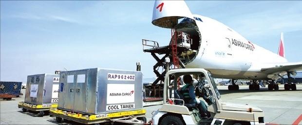 아시아나항공은 신선품·반도체·의약품 등 고부가가치 화물 수송을 확대하고 있다.  /아시아나항공 제공
