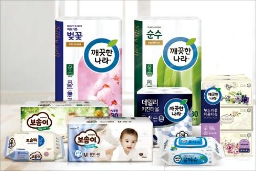 [글로벌 브랜드역량 & 부가가치 1위] 부드러운 촉감에 흡수력 뛰어나… 믿고 쓰는 고품질 생활용품