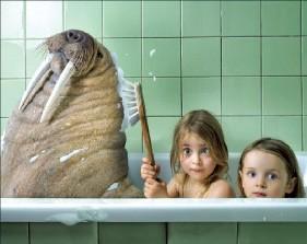 [사진이 있는 아침] 아이들의 상상이 현실이 되는 순간