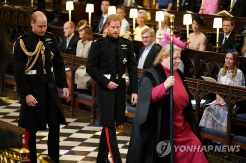 영국 해리 왕자·여배우 마클 전세계 축복 속 '로열 웨딩'