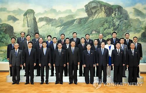 北 노동당 참관단 파격 행보… '시진핑 고향' 산시성 방문