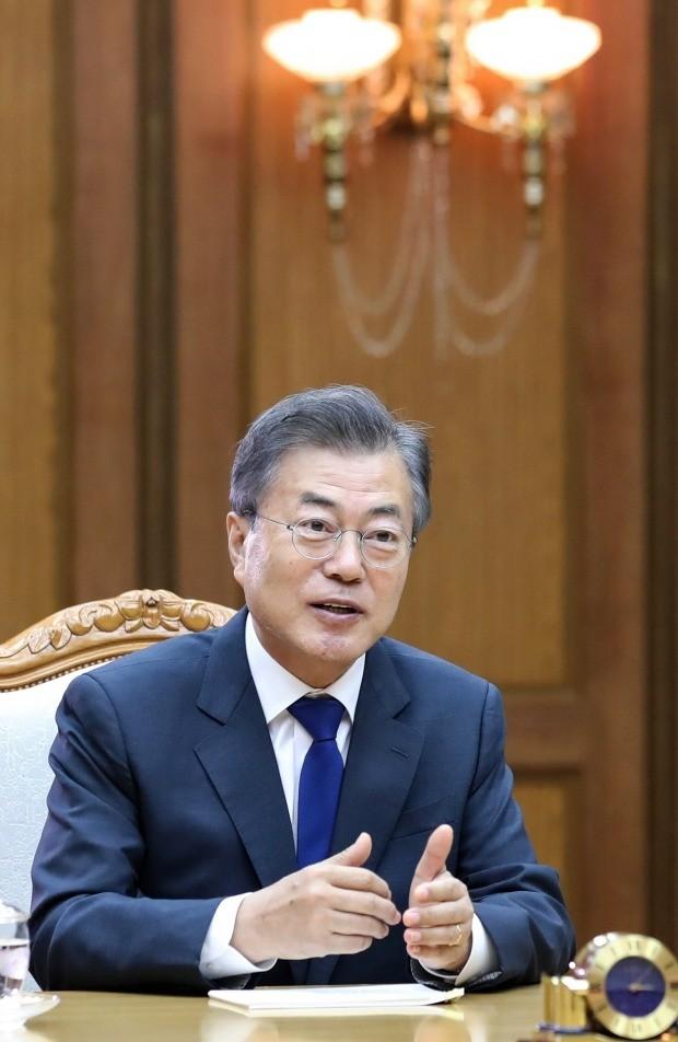 제2차 남북정상회담장 문재인 대통령 (사진=연합뉴스)