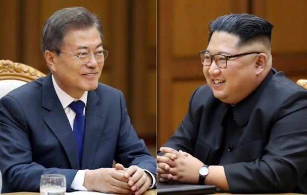 깜짝 2차 남북정상회담을 통해 다시 마주 앉은 남북정상(사진=연합뉴스)