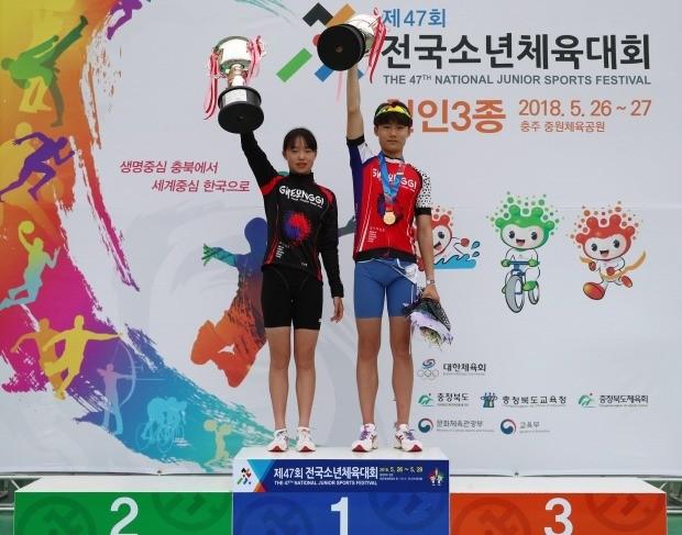 쌍둥이 남매 임가현(왼쪽)과 임국현. 사진=연합뉴스