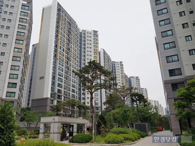 서울 돈의문1구역을 재개발한 교남동 '경희궁자이'. 전형진 기자
