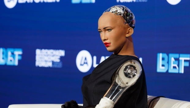 AI 소피아가 기조연설…'블록체인 이코노믹 포럼 샌프란시스코' 열려