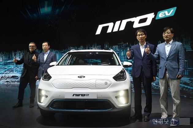[포토] 기아자동차, 고성능 스마트 전기차 니로 EV 공개(2018 부산모터쇼)