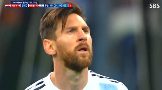 아르헨티나 크로아티아 (사진=방송캡처)