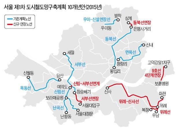 9호선 4단계 추가, 위례과천선 운명 8월 결판