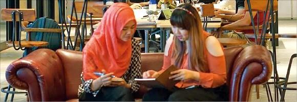 네이버가 투자한 인도네시아 사무실 공유 서비스 업체 'EV하이브'. /EV하이브 제공