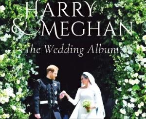 해리 왕자와 마클 왕자빈의 결혼앨범 표지
