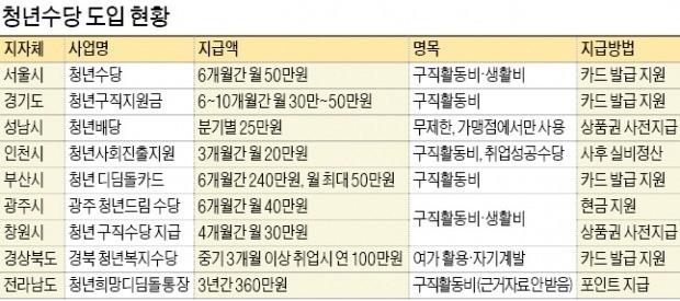 """200억 넘은 청년수당… """"여행가고 술 마시면 어떠냐""""는 서울시"""