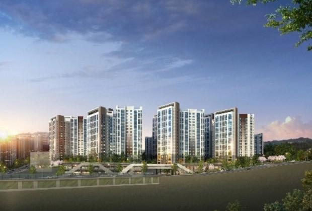 '힐스테이트 신촌' 투시도 제공 현대건설