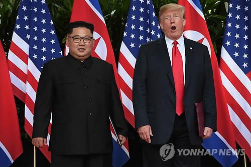 """트럼프 """"핵우산제거 논의 안해…한반도 비핵화는 北핵무기 제거"""""""
