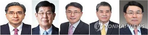 포스코 회장후보 5人… 정치권 구설 덜 탄 포스코맨들