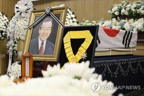 마지막 3김 JP의 '퇴장'… 부여 가족묘원에 영면