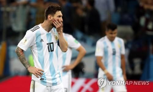 [월드컵] 숫자로 본 아르헨티나 대패… '메시 유효슈팅 제로'