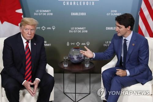 트럼프 '몽니'가 뒤흔든 G7 정상회의… 통상갈등 봉합 대신 증폭