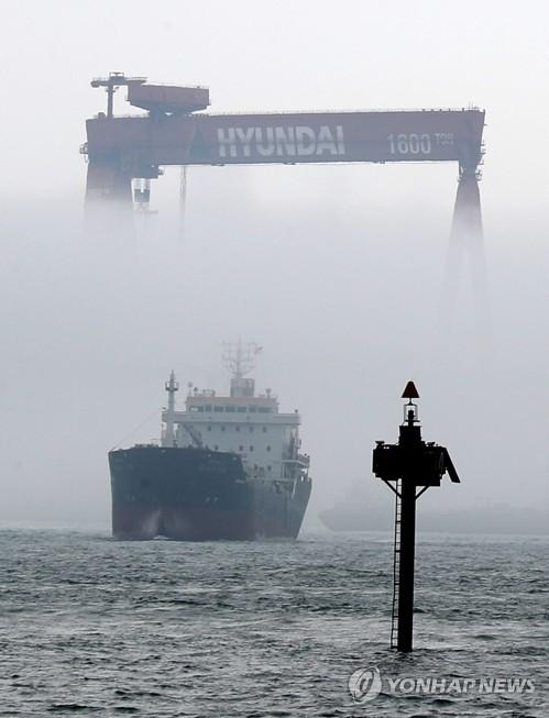 현대중 해양공장 가동중단 예고… 5600명 고용불안 시달려