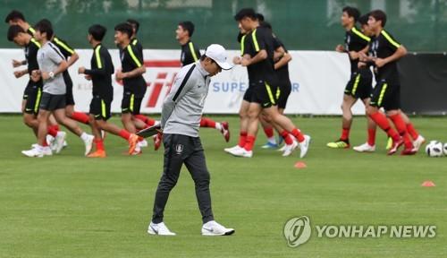 [월드컵] 보안에 목숨 거는 신태용호… 전술훈련 공개 전무