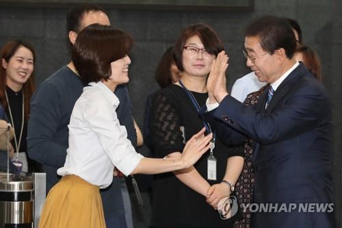 """첫 3선 서울시장 박원순 """"더 큰 변화 만들 것…'52시간' 동참"""""""