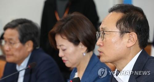 """민주 """"한국당 뺀 3개 교섭단체만이라도 국회 원 구성 협상"""""""