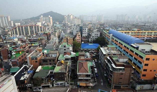 서울 거여·마천뉴타운 일대. 한경DB