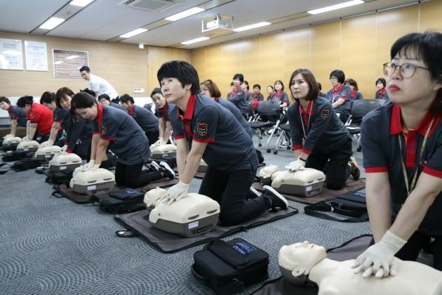 CJ 직원들은 '안전 파수꾼'…심폐소생술 교육 이수 1000명 넘어