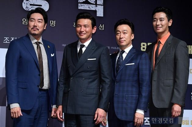 """[HK영상] '공작' 이성민 """"황정민은 천생 광대이자 늘 부러움의 대상"""""""