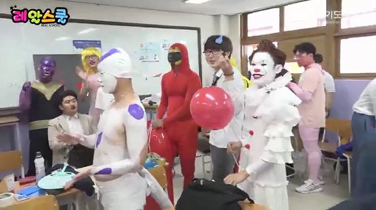 의정부 고등학교 졸업사진 (사진=경기도교육청 유튜브 캡처)