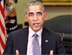 미국 버즈피드가 인공지능(AI) 기술로 제작한 버락 오바마 전 미국 대통령의 가짜 동영상.  /버즈피드 캡처