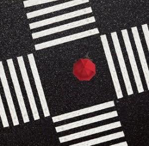 [사진이 있는 아침] 검정·하양·빨강… 3色의 하모니