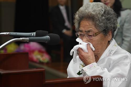 사진으로 보는 위안부 피해자 김복득 할머니의 마지막 발자취