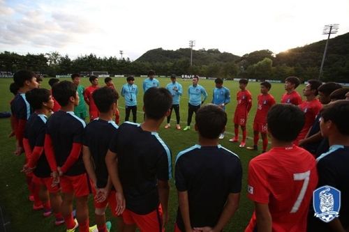 U-16 축구대표팀, 해외 전훈… AFC 챔피언십 준비