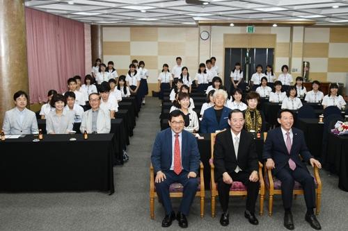 44년째 경주에 수학여행 오는 일본 고등학교