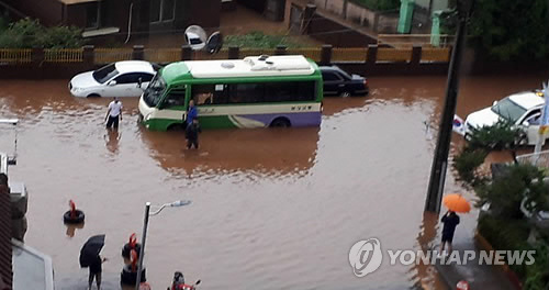 실종·침수·고립… 기록적 폭우에 전국서 피해 잇따라