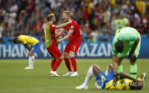 [월드컵] 프랑스·벨기에 32년만의 결투… 양국 정상, 응원대결
