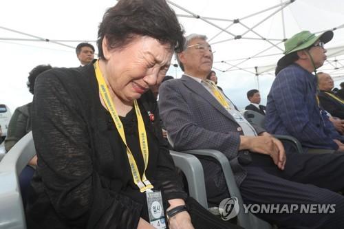 """제주공항서 4·3 유해발굴 재개… """"70년 한 풀어드리겠다"""""""