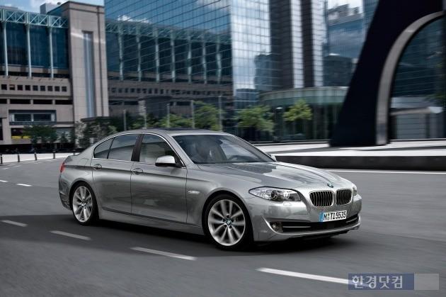 중고차 시장에서 소비자들이 많이 찾는 6세대 BMW 520d.