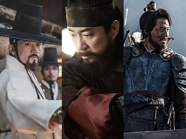 영화 '명당' 지성, '물괴' 김명민, '안시성' 조인성/사진=각 영화 스틸컷