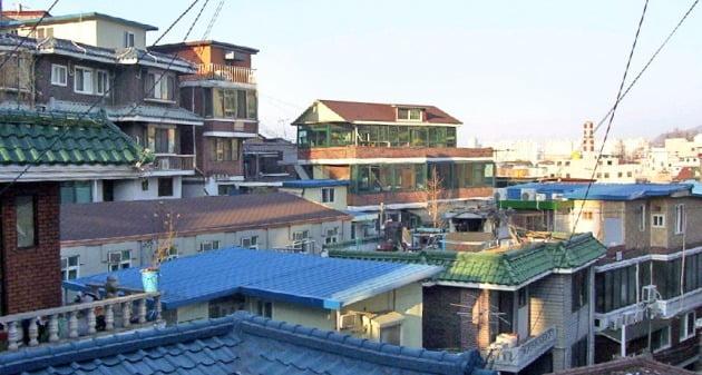 서울 노량진뉴타운. 한경DB