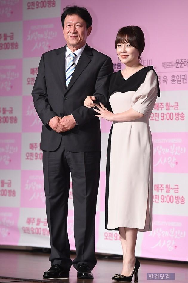 [포토] 김응수-하희라, '우리는 띠동갑 부부~'