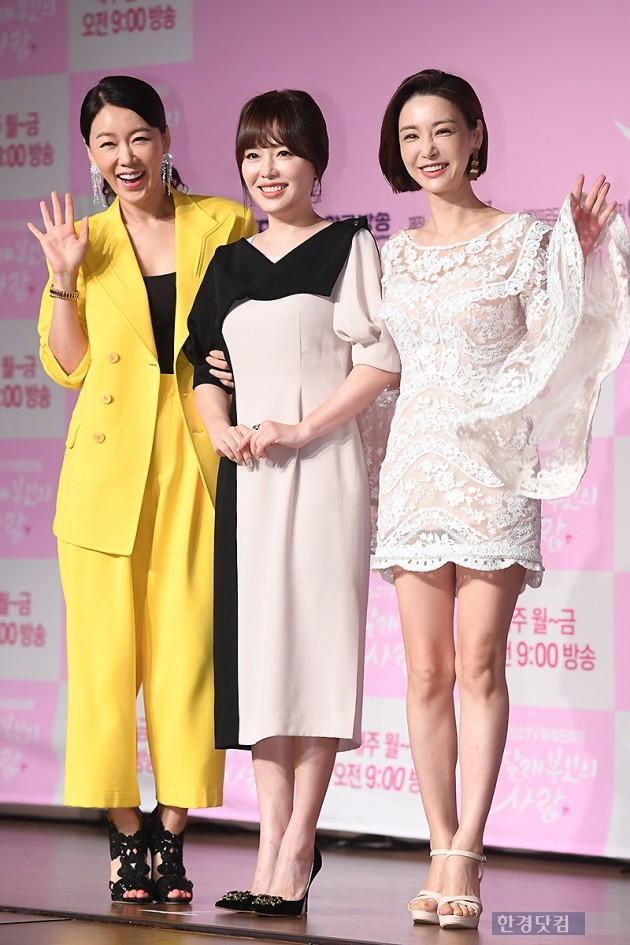 [포토] 안선영-하희라-고은미, '우리가 차달래 세 친구'